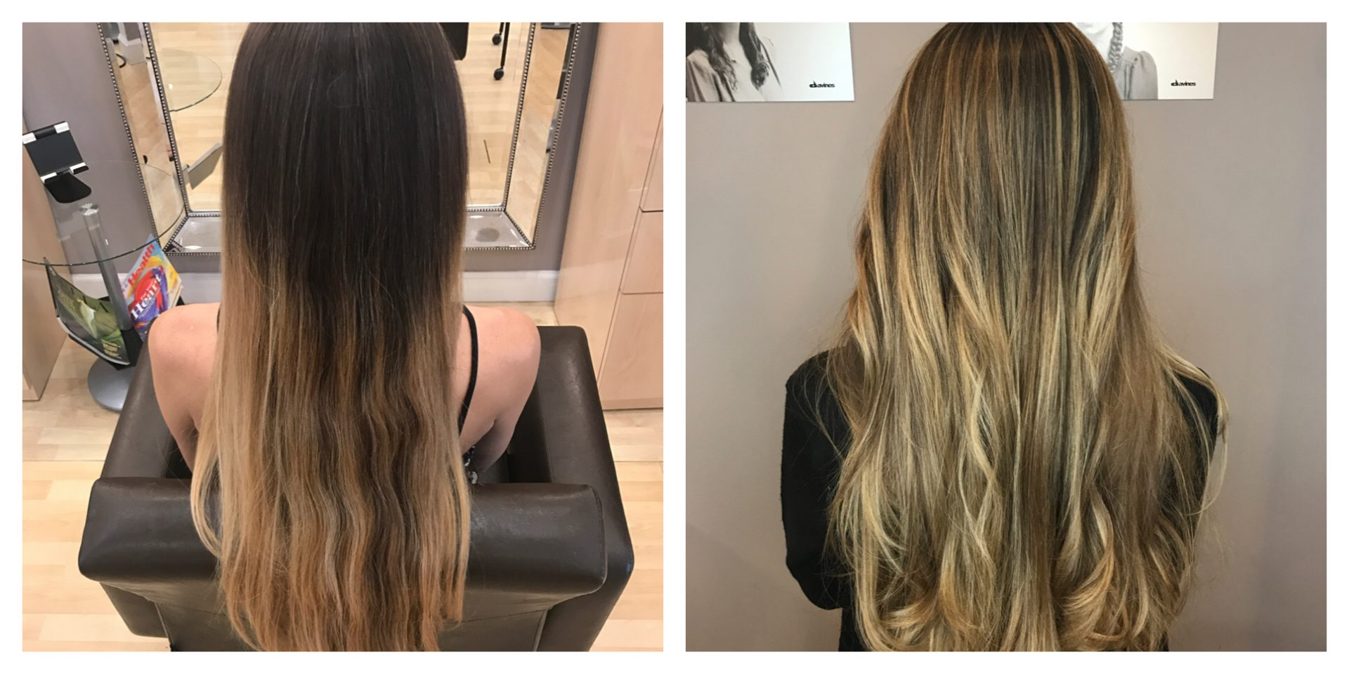 Balayage Toner Haircut And Blow Dry Salon Mulberry